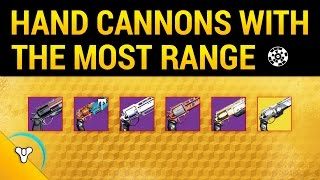 Download Destiny Rise of Iron: Best High Range Hand Cannons Video
