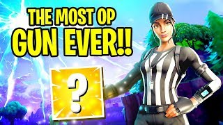 Download MOST OVERPOWERED GUN IN FORTNITE HISTORY.... Video