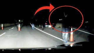 Download SKETCHY CAR FOLLOWS US DOWN ABANDONED GHOST TOWN AT 3AM.. Video