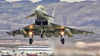 Download Multinational Fighter Jets Train At U.S. Air Force Base Video