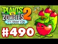 Download Plants vs. Zombies 2: It's About Time - Gameplay Walkthrough Part 490 - Apple Mortar! World Keys! Video