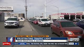Download Frustrating traffic light studied by NDOT for improvements Video