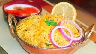 Download How to make Quick Plain Biryani Recipe | Indian Spicy Rice Video Recipe by Bhavna Video