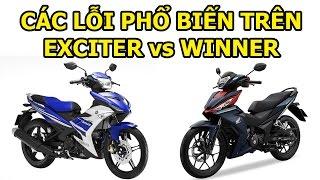 Download Lỗi xe Winner và lỗi xe Exciter tổng hợp những lỗi 2 xe côn tay Honda Winner và Yamaha Exciter Video