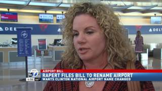 Download Senator files a bill to rename Bill and Hillary Clinton National Airport News Clips Feb 24, 2017 Video