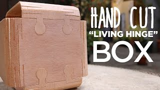 Download Hand Cut Living Hinge Box (Peter Brown Challenge) Video