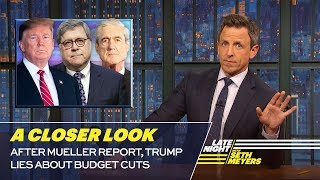 Download After Mueller Report, Trump Lies About Budget Cuts: A Closer Look Video