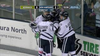 Download UNH Men's Hockey vs. Merrimack HIGHLIGHTS 10.29.16 Video