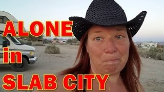 Download Solo Woman Travels Alone to Slab City: Day 1 Video