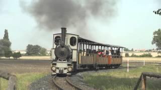 Download Kolínská Řepařská drážka a replika parní lokomotiv Video