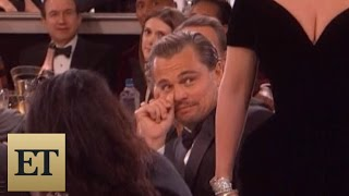 Download Leonardo DiCaprio's Reaction to Lady Gaga's Golden Globes Win is Absolutely Priceless Video