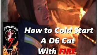 Download How to Cold Start a Frozen D6 Cat Russian-Style with FIRE Video