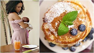 Download What I Eat In a Day as a Breastfeeding Mama ♥ Vegan, Quinoa Pancake Recipe Video