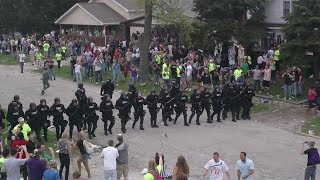 Download Riot Police Disrupt INSANE College Party Video