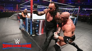 Download Triple H and Undertaker take their fight to the extreme: WWE Super Show-Down 2018 (WWE Network) Video