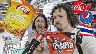 Download Visitando un supermercado en TAILANDIA 🇹🇭 No entendimos NADA! Video