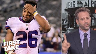 Download Saquon is best running back in NFL over Todd Gurley - Max Kellerman   First Take Video