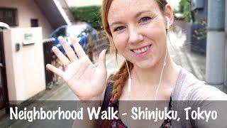 Download Neighborhood Walk - Shinjuku, Tokyo Video