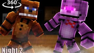 Download Five Nights At Freddy's 2 - Minecraft 360° Video Video