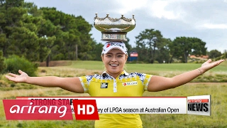 Download Jang ha-na wins LPGA tour Australian open Video