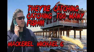 Download Mackerel Michael Called The Game Warden For Catching A Ton of Rare Galveston Fish Video