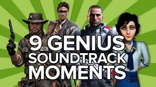 Download 9 Genius Videogame Soundtrack Moments - Saints Row, Red Dead, BioShock Infinite (SPOILERS) Video