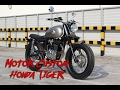 Download Motor Custom Basic Honda Tiger Video