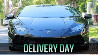 Download TAKING DELIVERY OF MY LAMBORGHINI HURACAN Video