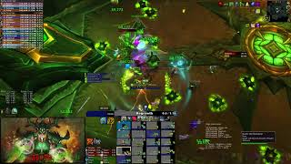 Download Pure vs Mythic Antoran High Command, Resto Druid PoV Video