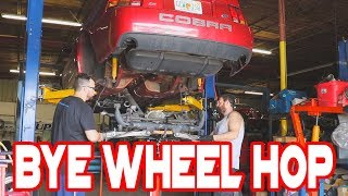 Download 700+ RWHP E85 Cobra Terminator Build: Suspension - Maximum Motorsports IRS Grip Package Video