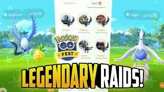 Download Pokemon GO Fest - LUGIA + ARTICUNO LEGENDARY RAIDS! Video