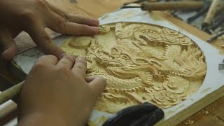 Download Traditional Craftsmanship Revived in China - Dongyang Woodcarving Video