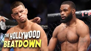 Download Tyron Woodley Calls Out Nate Diaz ″Don't Be Scared, Homie″ | The Hollywood Beatdown Video