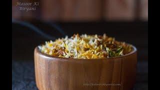 Download Masoor Biryani-Akkha Masoor ki Biryani-Spicy Veg Biryani -Easy Biryani recipe by Chef Smita Video