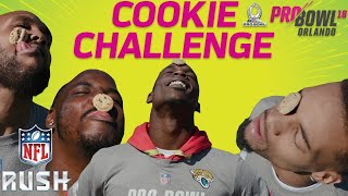 Download NFL Pro Bowlers Compete in the Cookie Challenge! | NFL RUSH Video