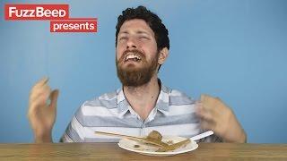 Download Vegan eats meat, cries tears of joy Video