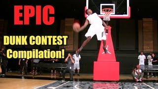 Download EPIC Slam Dunk Contest Compilation! BEST Dunkademics Dunks! Video