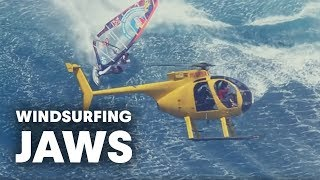 Download Windsurfing Jaws - The mother of all waves with Jason Polakow Video