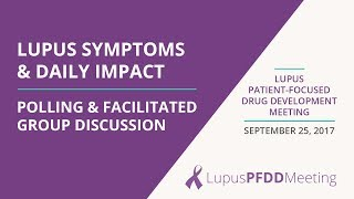 Download Patients Describe Lupus Symptoms and Daily Impact Video