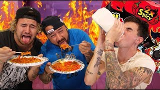 Download WORLD'S SPICIEST NOODLE CHALLENGE!!! (WITH JC'S DAD) Video