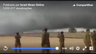 Download Biblical Pillar of Cloud Protects Israel From ISIS Over Golan Heights Video