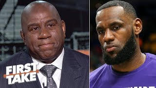 Download LeBron is right, 'I could have done it a different way' – Magic on suddenly resigning | First Take Video