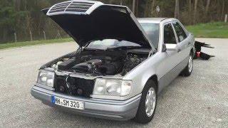 Download Mercedes-Benz W124 E320 Zustand und Motorlauf Video