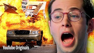 Download The Try Guys Vs. Dormtainment • Action Movie Stunts Video