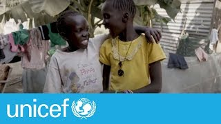 Download Water: a daily chore for two sisters in South Sudan | UNICEF Video