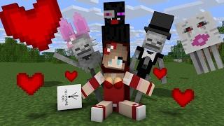Download Monster School: Valentine - Minecraft Animation Video