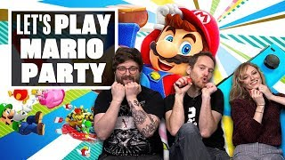Download Let's Play Mario Party - SOUND STAGE AND RIVER SURVIVAL SHENANIGANS! Video