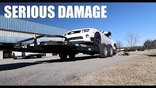 Download Driving off Trailer with no ramps DAMAGED MY RACECAR!!! Video