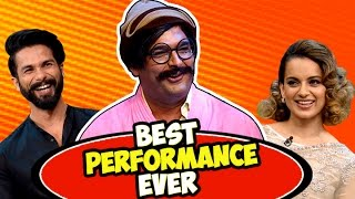 Download Rajesh Arora's Best Performance Ever with Shahid Kapoor and Kangana Ranaut | The Kapil Sharma Show Video