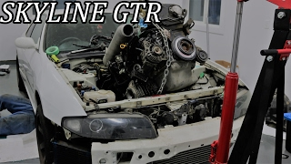 Download Skyline R33 GTR BUILD - Pt 1 Video